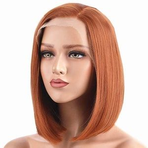 "ISLA 14"" GINGER STRAIGHT BOB LACE FRONT WIG💫*NWT*"